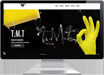 Webdesign schoonmaak bedrijf