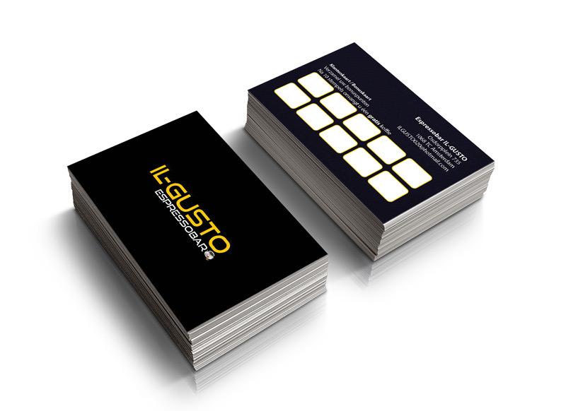 Visitekaartjes Design en drukken