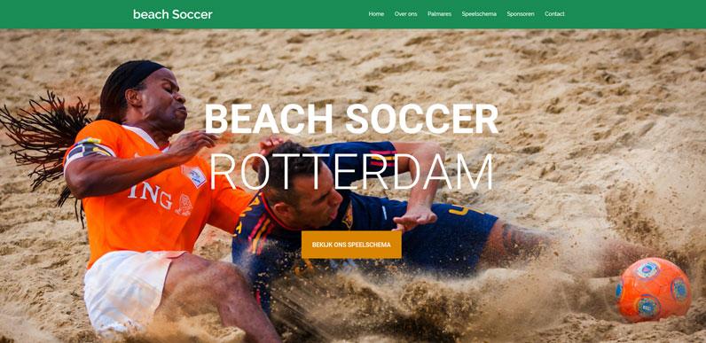 Beach Soccer Rotterdam